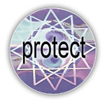 Protect Silver Hologram