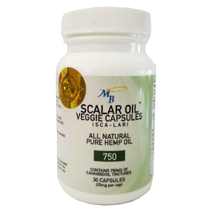 scalar oil capsules 750mg
