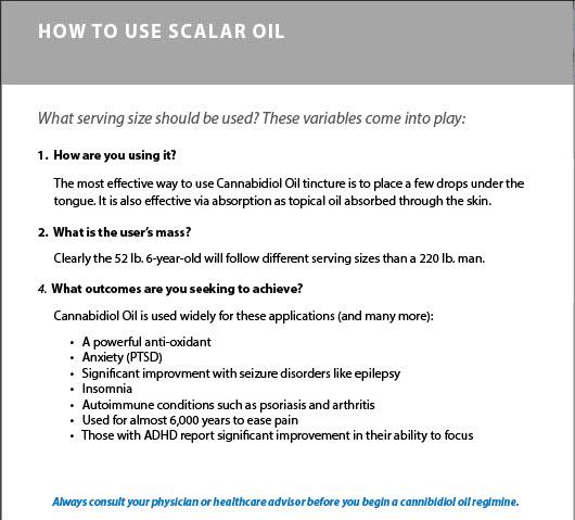 scalar oil